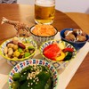 jikka - 料理写真:日替わりタパス盛り合わせ4種(実際は5種あり)¥1000