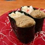 健康寿司海鮮家 - カニミソ 230円
