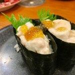 健康寿司海鮮家 - フグの白子 280円