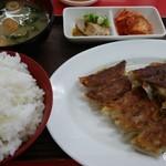 Gyozanoikkyuu - 餃子定食