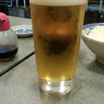 やきとり おくしり - 生ビール(小)(500円)