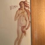スプリングバレーブルワリー東京 - お手洗いマーク(女子用)