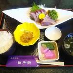 勘平衛 - 料理写真:カツオ定食1,270円