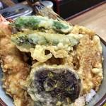 豊野丼 - 黄金丼