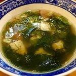 90416172 - 徳島椿泊産 鱧と煮若芽の塩つけ麺(300g)