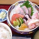 竹野鮮魚 - 職人おまかせ刺身定食