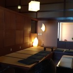 日本料理松風庵 - ロビー端のコーナー
