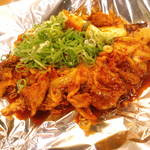 鉄板焼 えん - 豚キムチ¥680