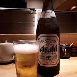 酉たか - まずはビールから