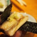 錦 - 鰻 白焼き(海苔で巻く)