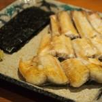 錦 - 鰻 白焼き