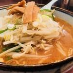 えぞ松 - 伝統のこってり味噌スープ!
