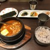 チョウォン - 料理写真:モツチゲ玉子トッピング