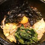 焼肉トラジ - 石焼きピビンバ