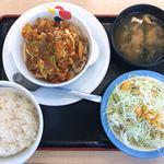 松屋 - 料理写真:ケイジャンチキン定食