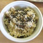 梅の木 - 玄米ご飯