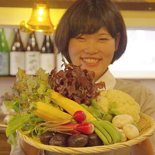 農家さんこだわりのお野菜を美味しく