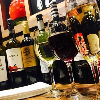 【10月限定】ワイン15種を飲み放題!90分1000円