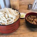元祖田舎っぺうどん - 肉ねぎ汁重ね盛り