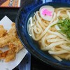 資さんうどん - 料理写真:冷やしかけ鶏天セット
