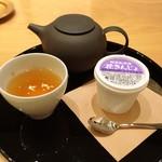 箔座日本橋 - 加賀棒茶と野菜ジェラート