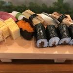 入船寿司 - 料理写真:握りのランチ