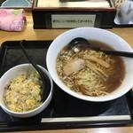 三吉 - ラーメンセット(650円)