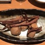 90441156 - イカと里芋の煮物