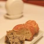 Ristorante SUOLO - パンもきちんとリベイクされてます