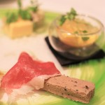 Ristorante SUOLO - 前菜盛り合わせ