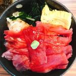 あげまき - 鉄火丼(500円:税込)