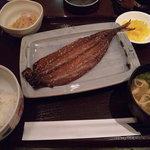 オアシスサウナ アスティル - 和定食(サンマみりん干し)