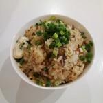 鶏蕎麦かかし - ミニ炊き込みチャーシューご飯