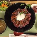 90451475 - ローストビーフ丼!
