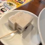香港雲呑専門店 賢記 - デザートのココナッツミルクプリン