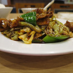 九寨溝 - 回鍋肉定食