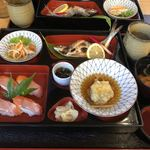 食事処 寿 - 料理写真:姫ます焼きセット