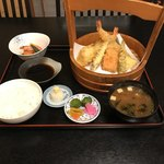 鶴べ別館 - 天麩羅御膳(上)       ¥1500