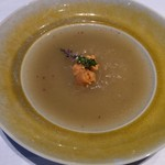 中国飯店 麗穂 - 極上ふかひれとウニの広東風煮込み