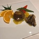 中国飯店 麗穂 - 和牛フィレ肉とオレンジの炒め