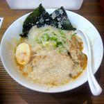 環七ラーメン SEABURAジョニー - ジョニー麺¥780めっちゃアブラギッシュ!