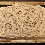 90456486 - もりそば ¥300 の麺