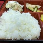 中華料理 ミンラク - ごはん大アップ