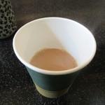 可らし仙台 - なぜか紙コップのミルクコーヒー