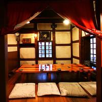 落ち着いた雰囲気のこあがり座敷個室席(4~20名)