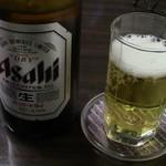 韓式居酒屋 アッパ - ビール中瓶