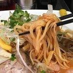 90462930 - 韓国冷し中華 麺リフト(中国手打拉麺 馬賊) 2018.8