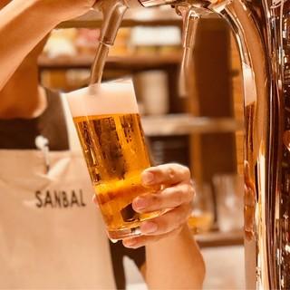 神保町一うまい生ビールを目指しています!