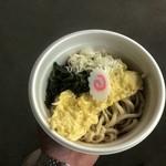 竹國うどん・そば - 料理写真:冷やしいか天うどん