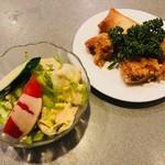 中国民菜 萬天 - サラダ、揚げもの付き!